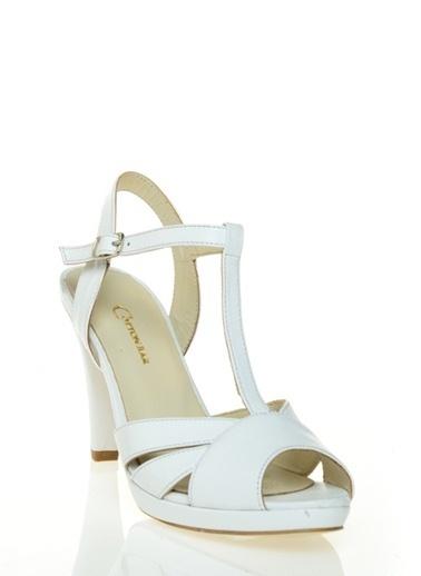 Cotton Bar Ayakkabı Beyaz